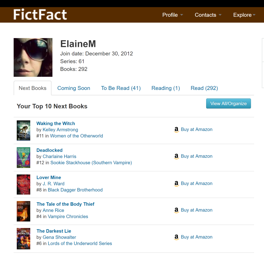 FictFact Profile Elaine Howlin Literary Blog