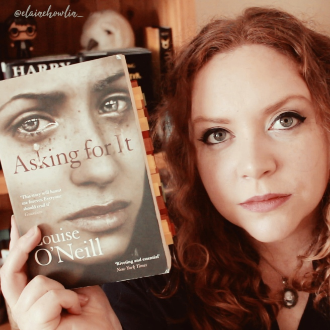 Asking For It by Louise O'Neill Elaine Howlin Literary Blog
