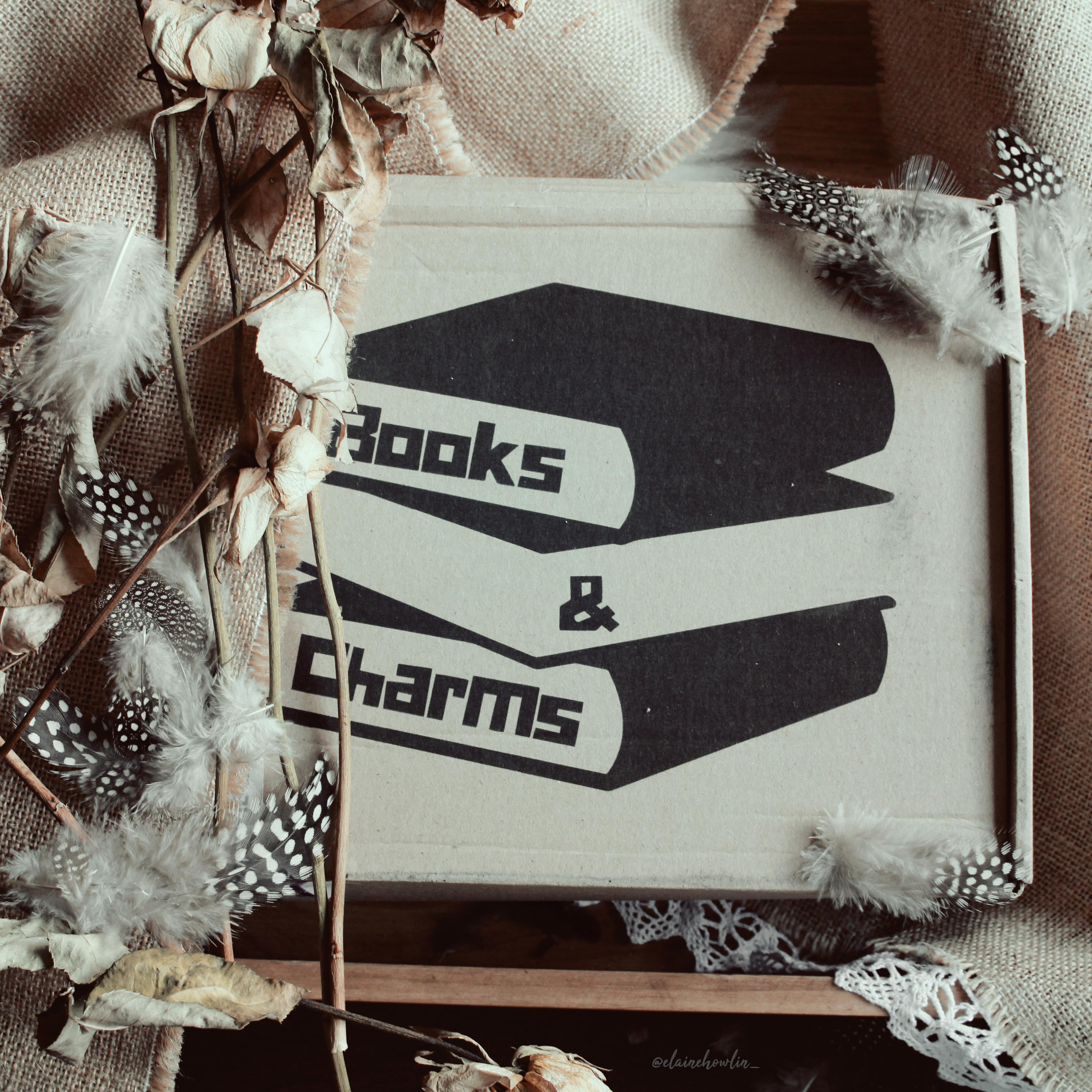 Books and Charms Box Elaine Howlin literary Blog
