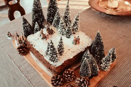 Hogsmeade Harry Potter Forbidden Forrest Christmas Cake Elaine Howlin Literary Blog 1