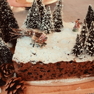 Hogsmeade Harry Potter Forbidden Forrest Christmas Cake Elaine Howlin Literary Blog 2