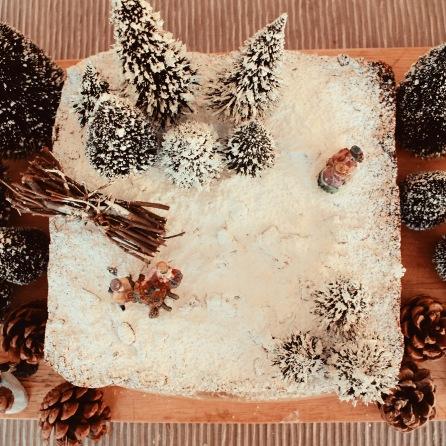 Hogsmeade Harry Potter Forbidden Forrest Christmas Cake Elaine Howlin Literary Blog 3