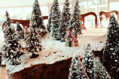 Hogsmeade Harry Potter Forbidden Forrest Christmas Cake Elaine Howlin Literary Blog 4