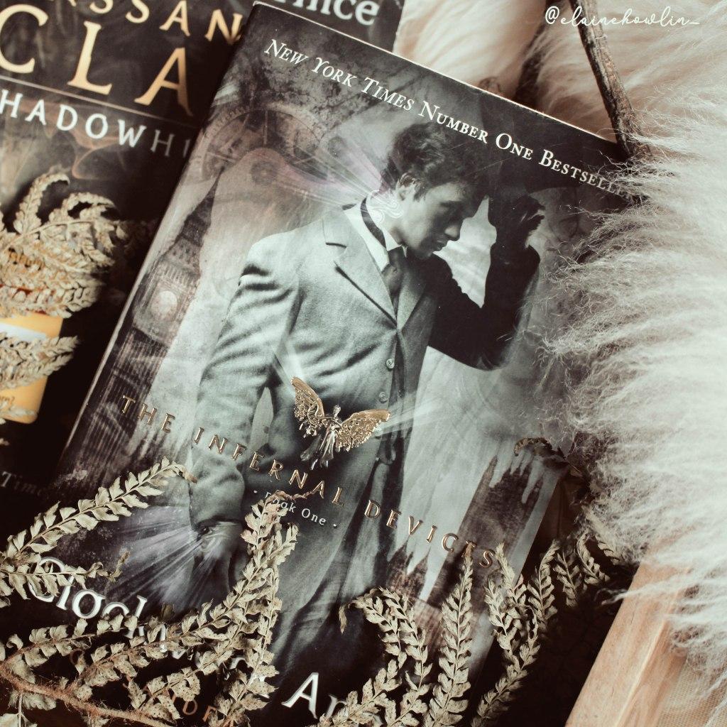 Clockwork Angel The Infernal Devices by Cassandra Clare Elaine Howlin Book Blog