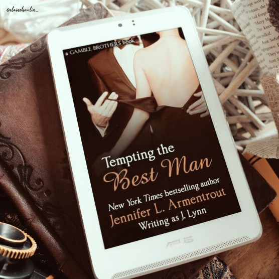 Tempting the Best Man by Jennifer L Armentraut Elaine Howlin Literary Blog