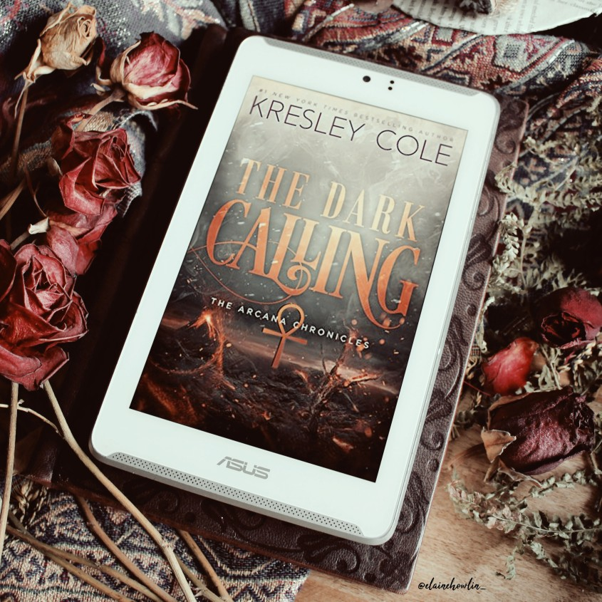 The Dark Calling by Kresley Cole Elaine Howlin book blog