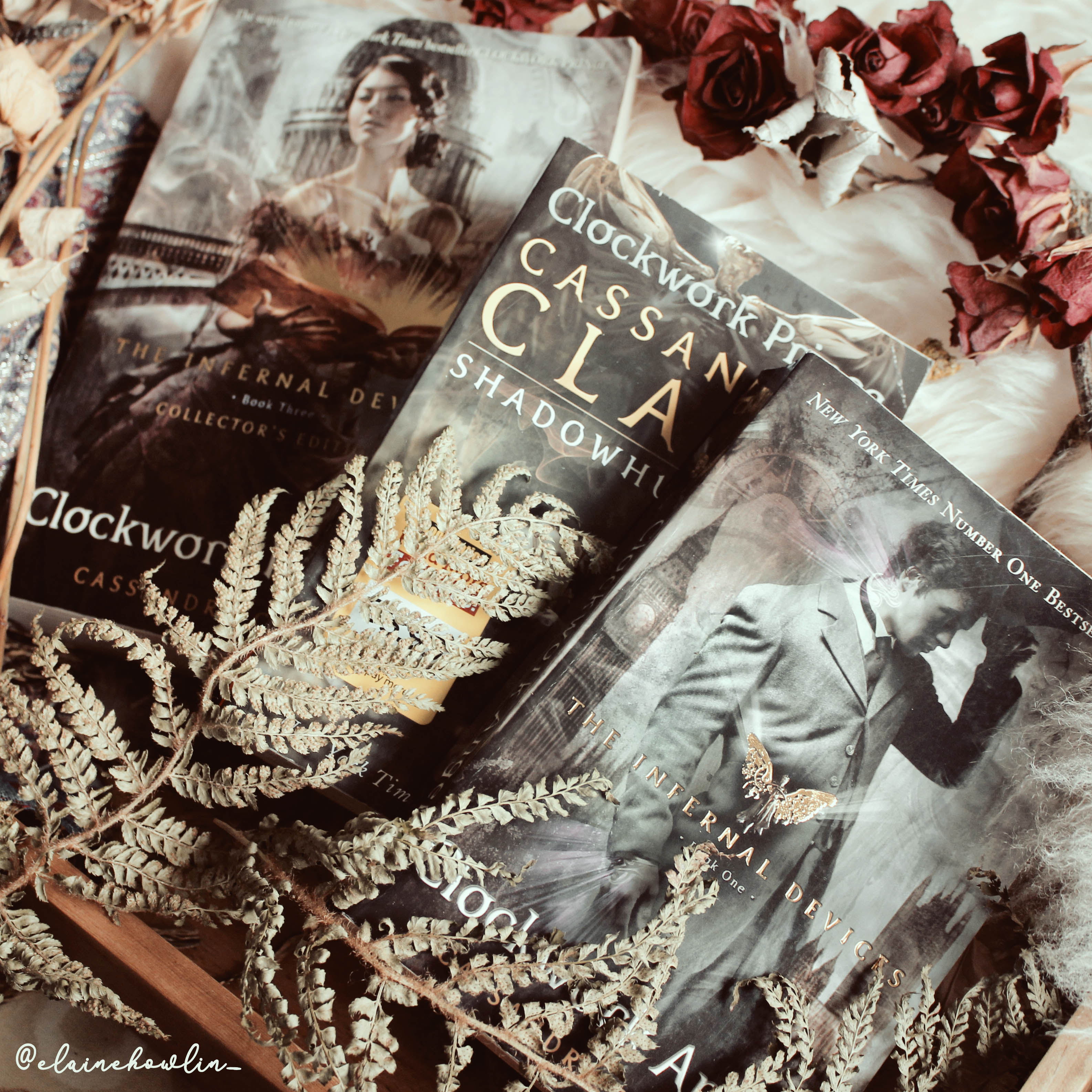 The Infernal Devices by Cassandra Clare Elaine Howlin Book Blog
