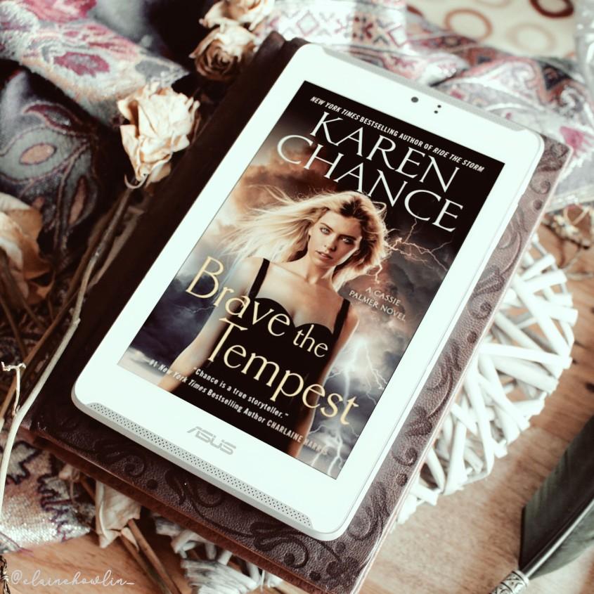 Brave the Tempest by Karen Chance Elaine Howlin Book Blog
