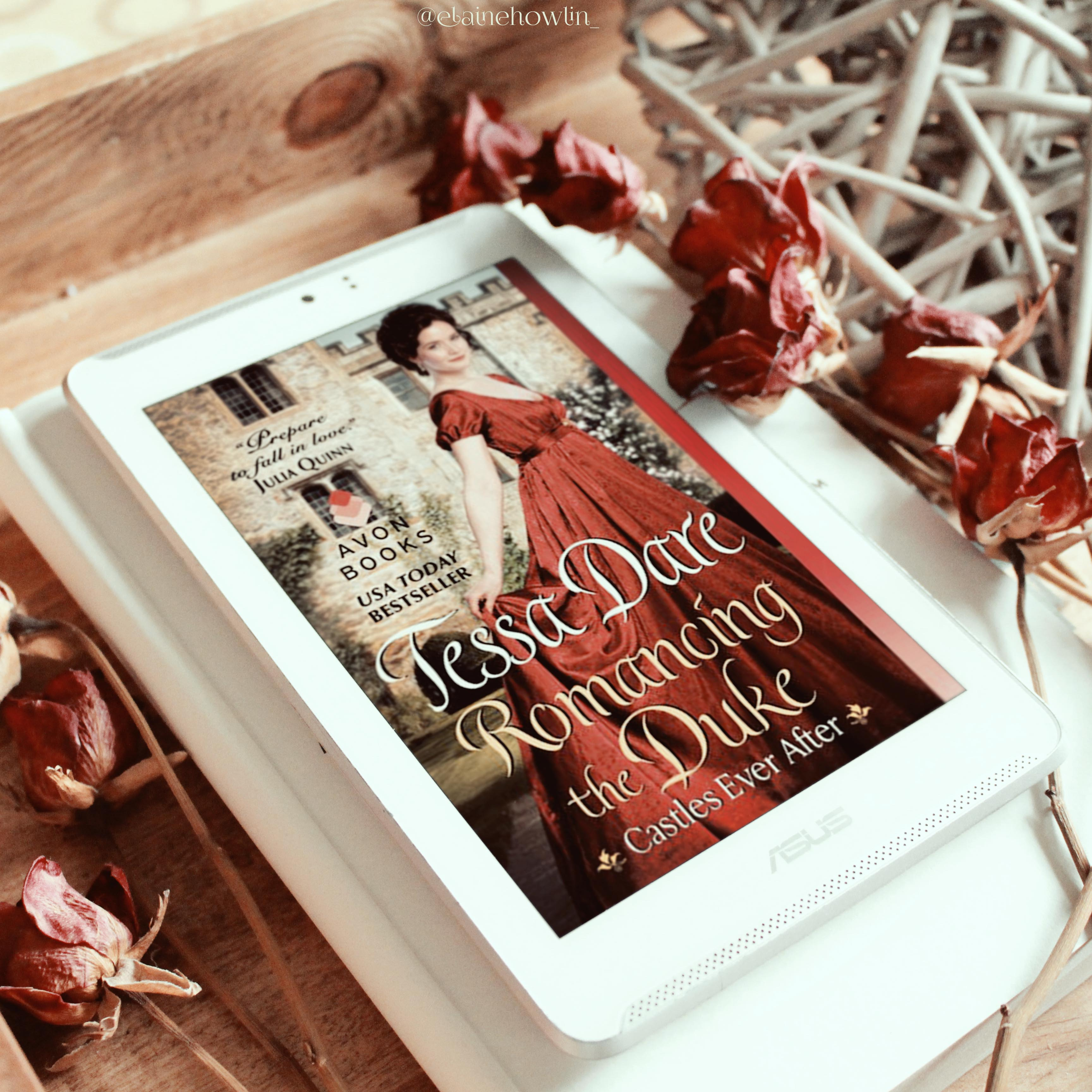 Romancing the Duke by Tessa Dare Elaine Howlin Book Blog