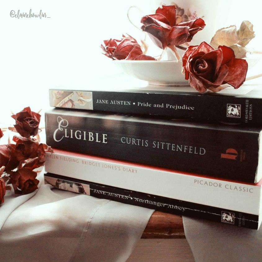 Jane Austen Book Stack Elaine Howlin Bookstagram