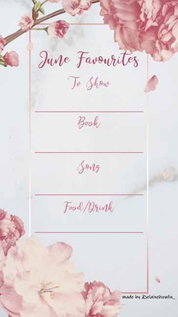 June Favourites Instagram Template by Elaine Howlin