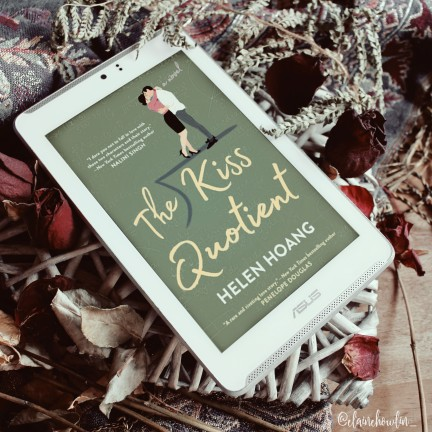 The Kiss Quotient by Helen Hoang Elaine Howlin Bookstagram