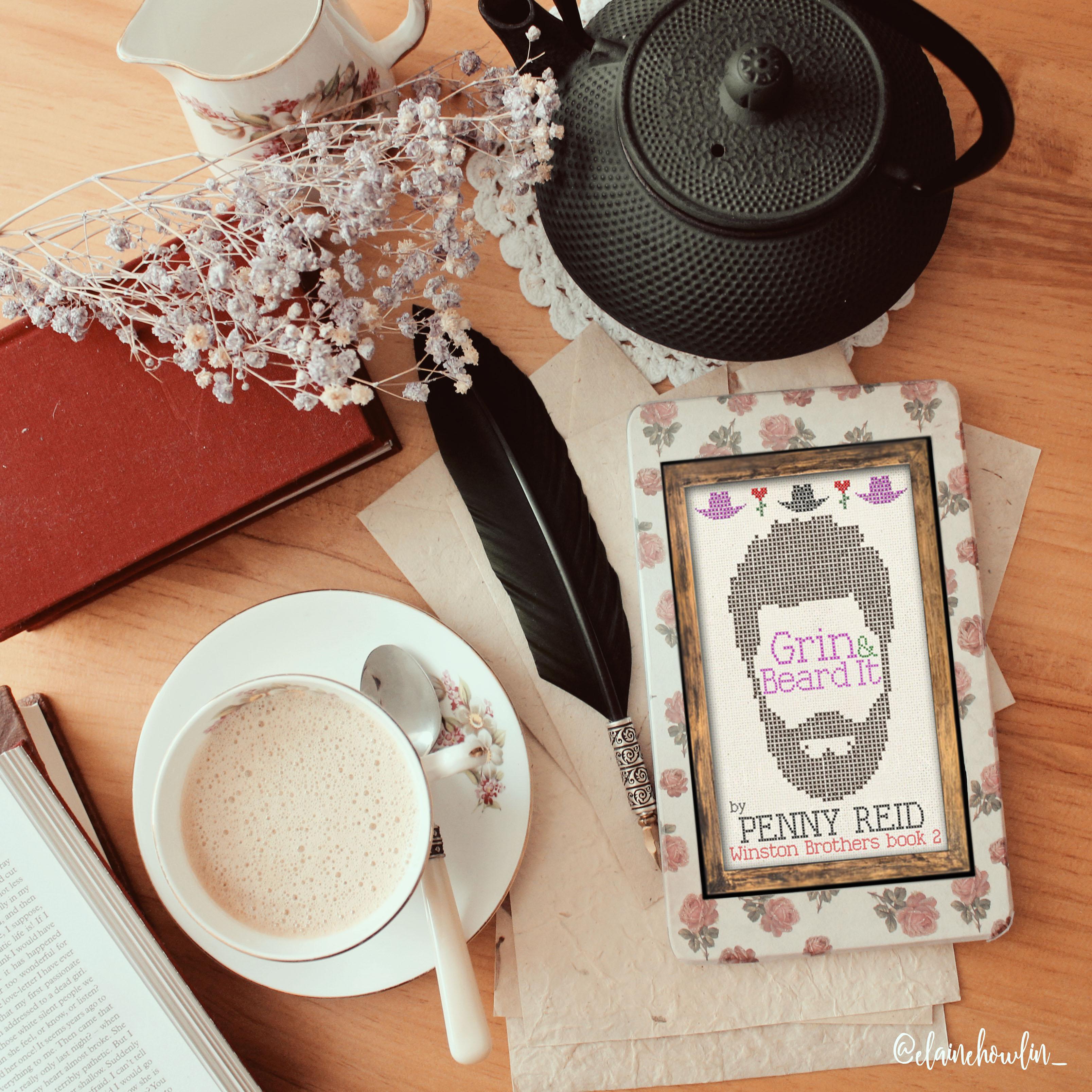 Grin and Beard It by Penny Reid Elaine Howlin Bookstagram
