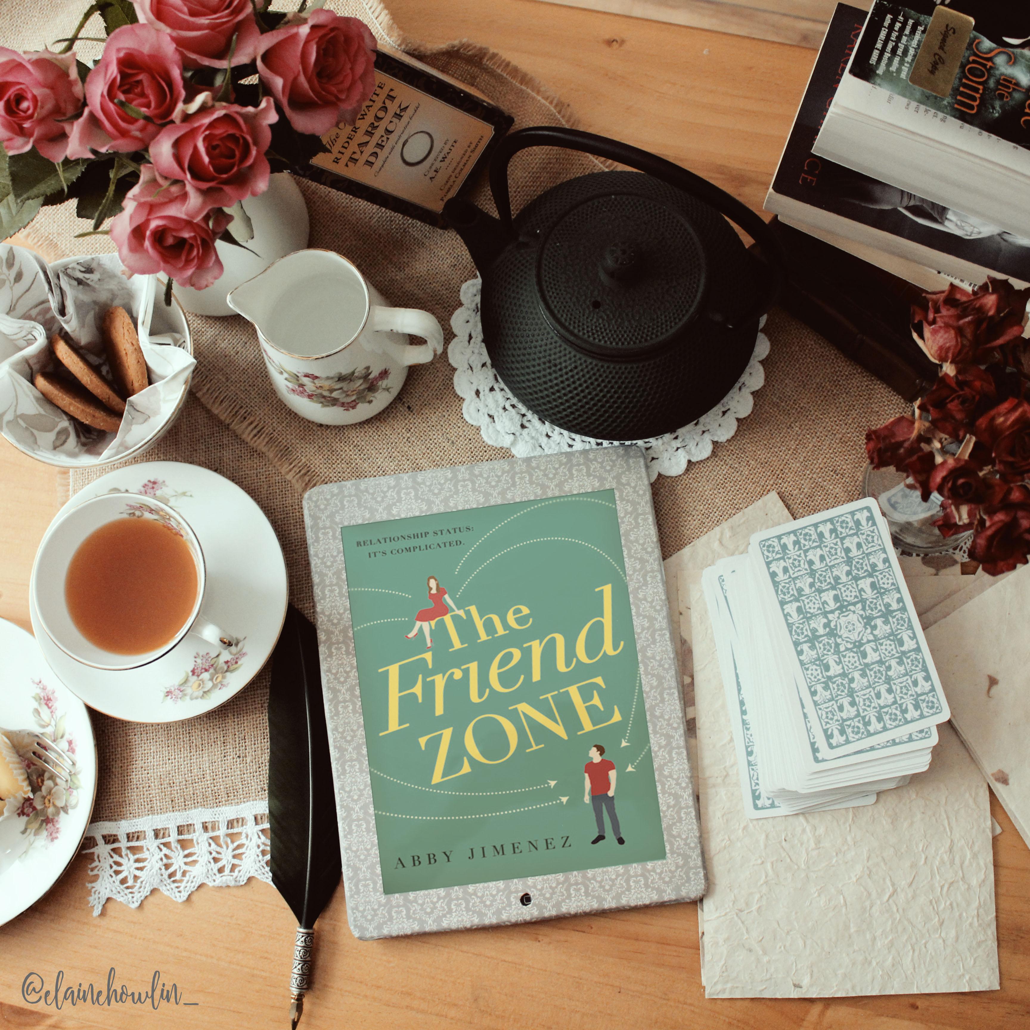 The Friend Zone by Abby Jimenez Elaine Howlin Bookstagram