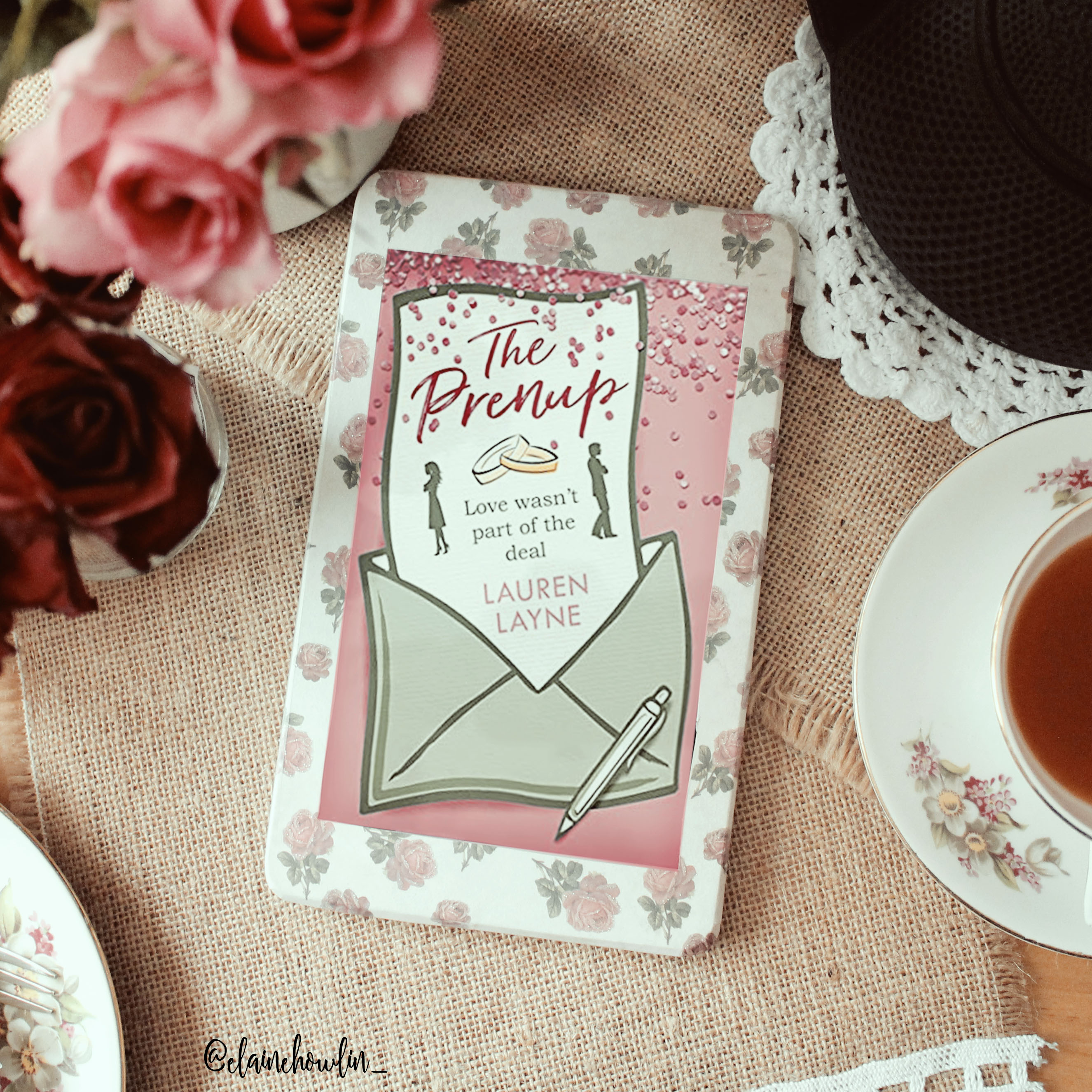 The Prenup by Lauren Layne Elaine Howlin Bookstagram