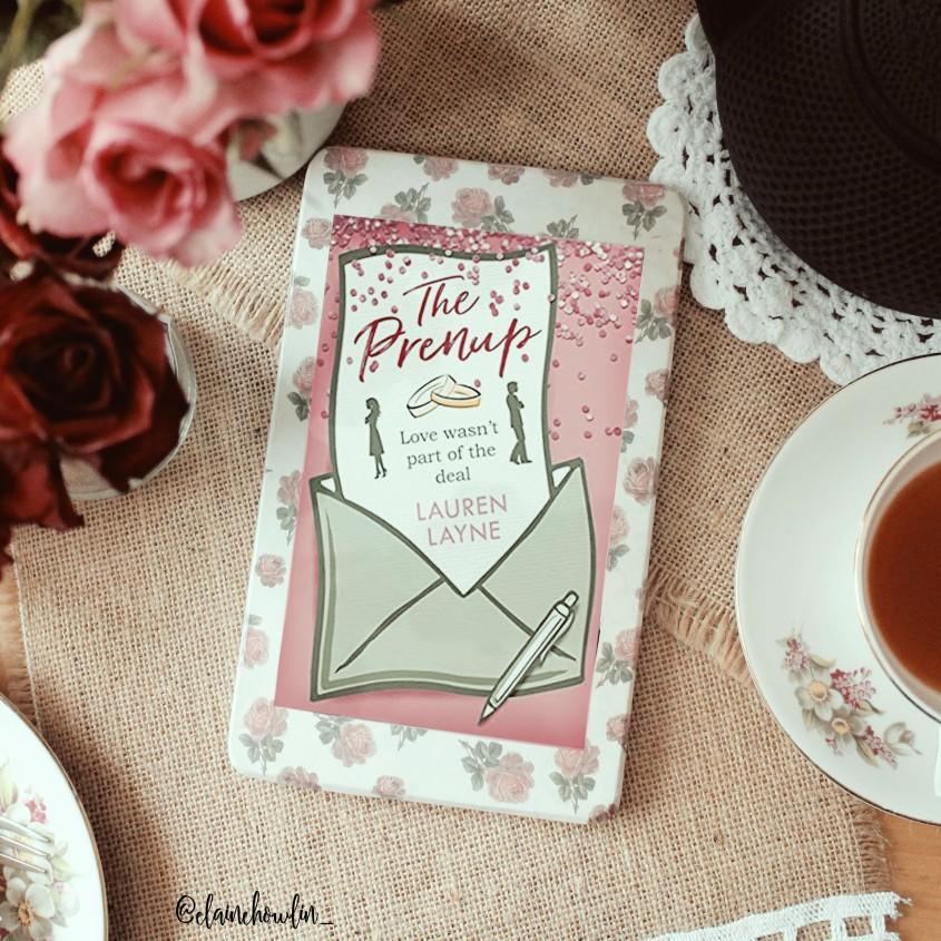 The Prenup by Lauren Layne Elaine Howlin Bookstagram