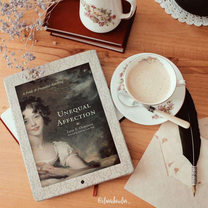 Unequel Affection by Lara S Ormiston Elaine Howlin Bookstagram