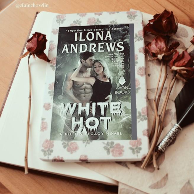 White Hot by Ilona Andrews Elaine Howlin Book Blog