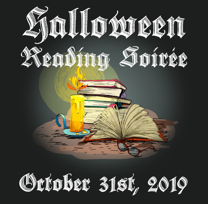 Halloween Reading Soirée 2019 Elaine Howlin Book Blog