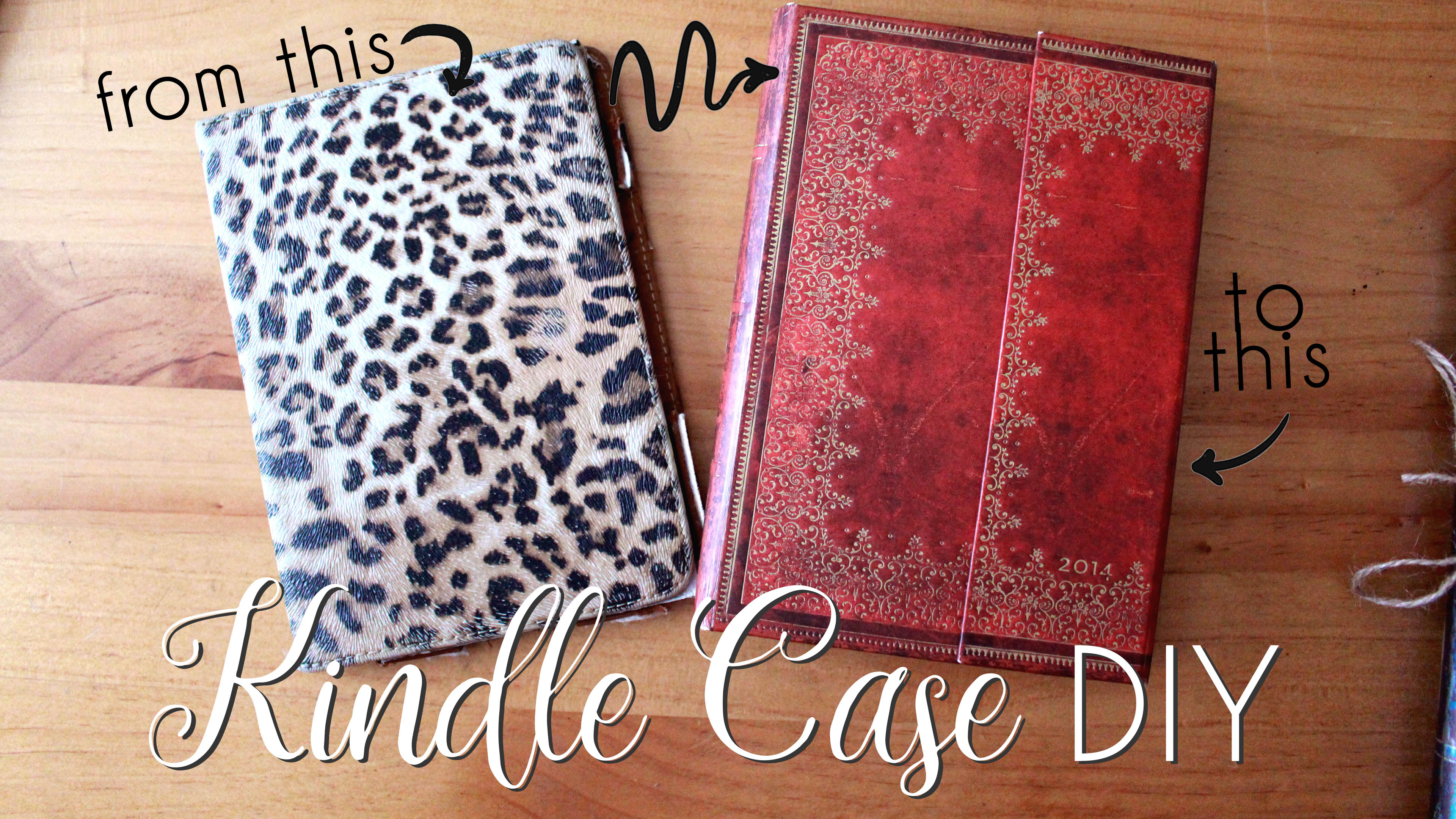 Making a Kindle Case from an old Journal Elaine Howlin BookTube