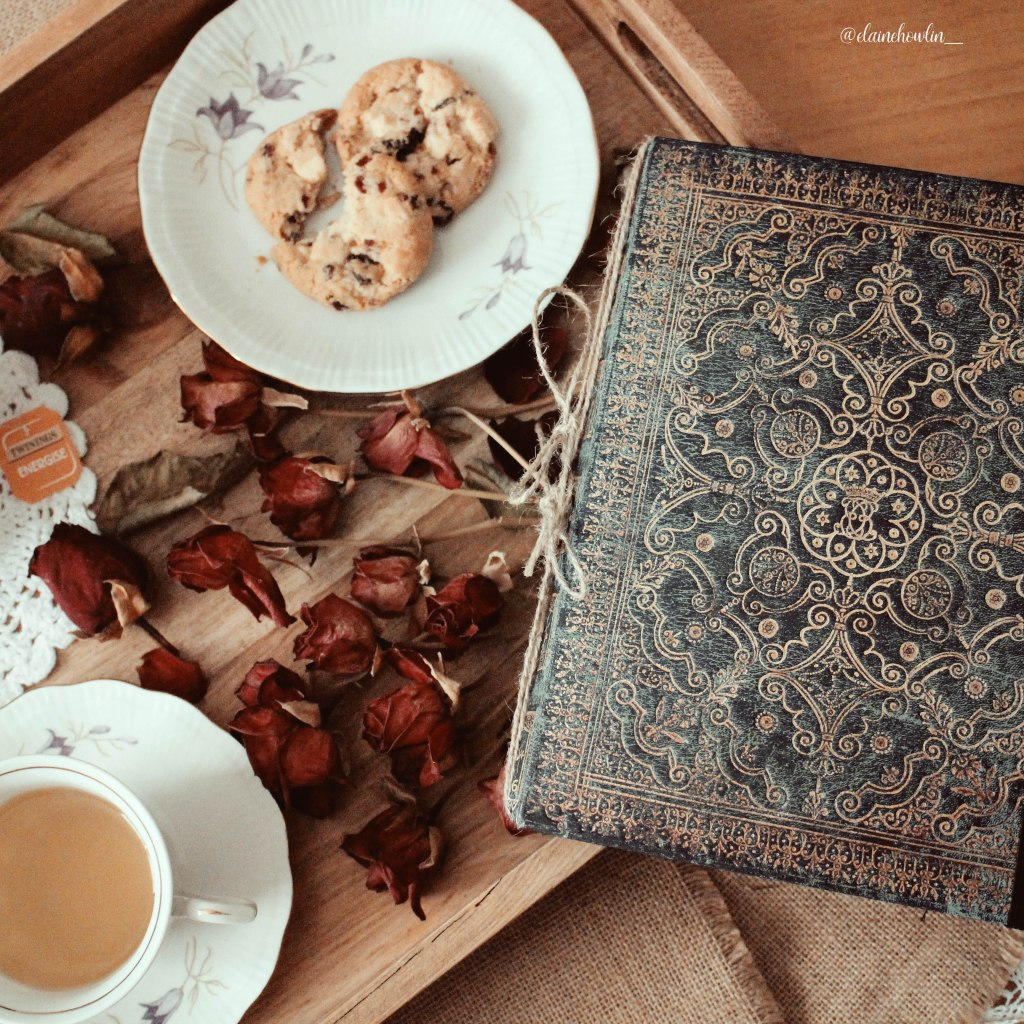 Victober Reading Journal 2019 with Tea and Cookies Elaine Howlin Book Blog