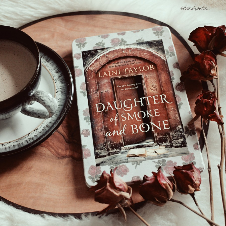 Daughter of Smoke and Bone by Laini Taylor Elaine Howlin Bookstagram