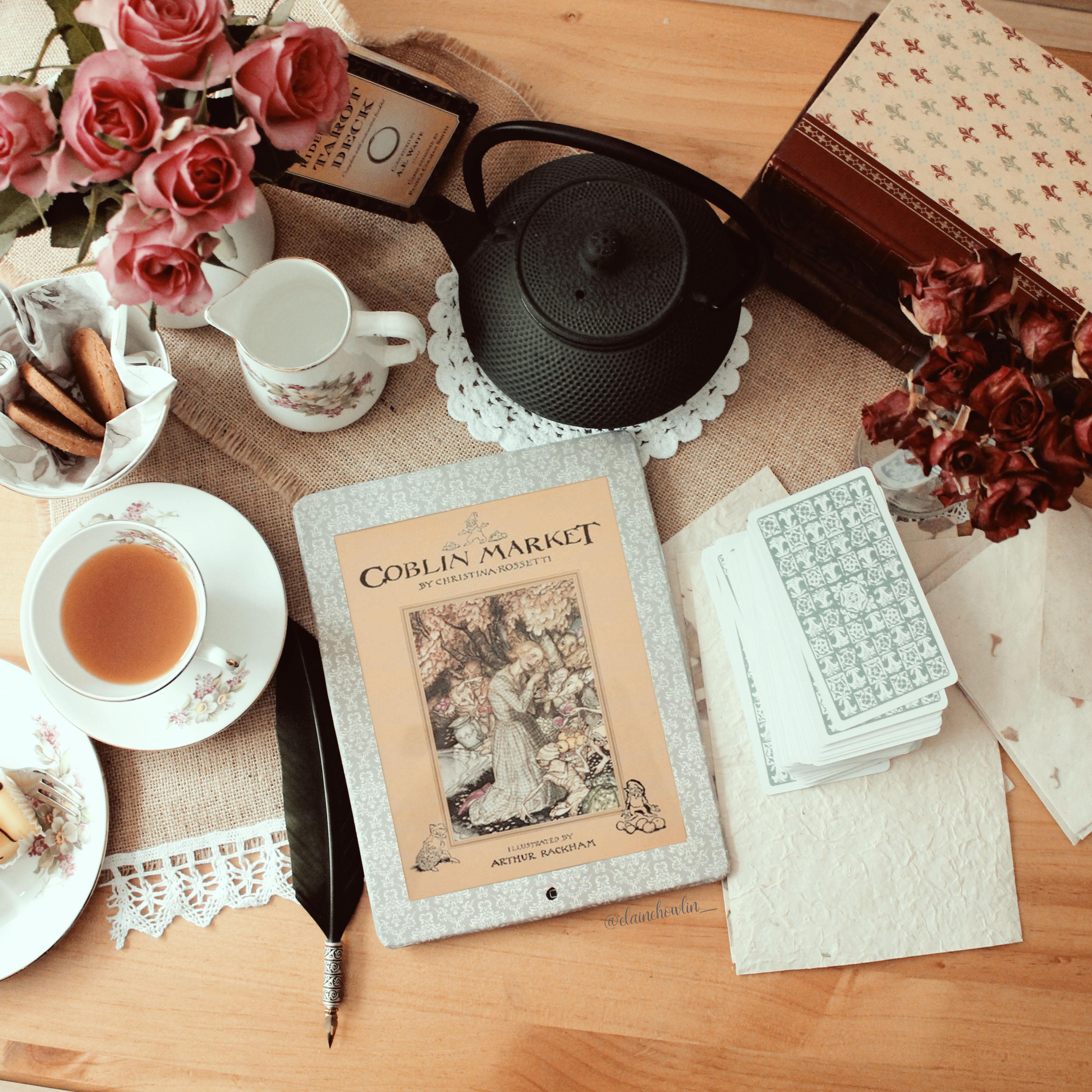 Goblin Market by Christina Rossetti Elaine Howlin Bookstagram