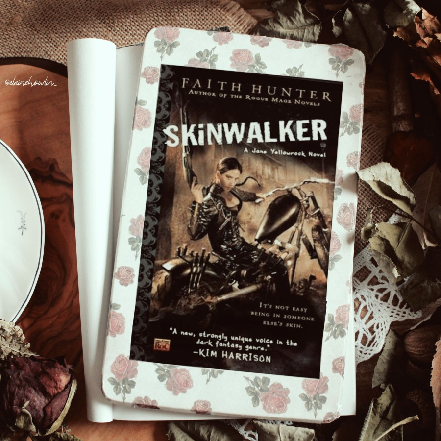 Skinwalker Jane Yellowrock by Faith Hunter Elaine Howlin Bookstagram