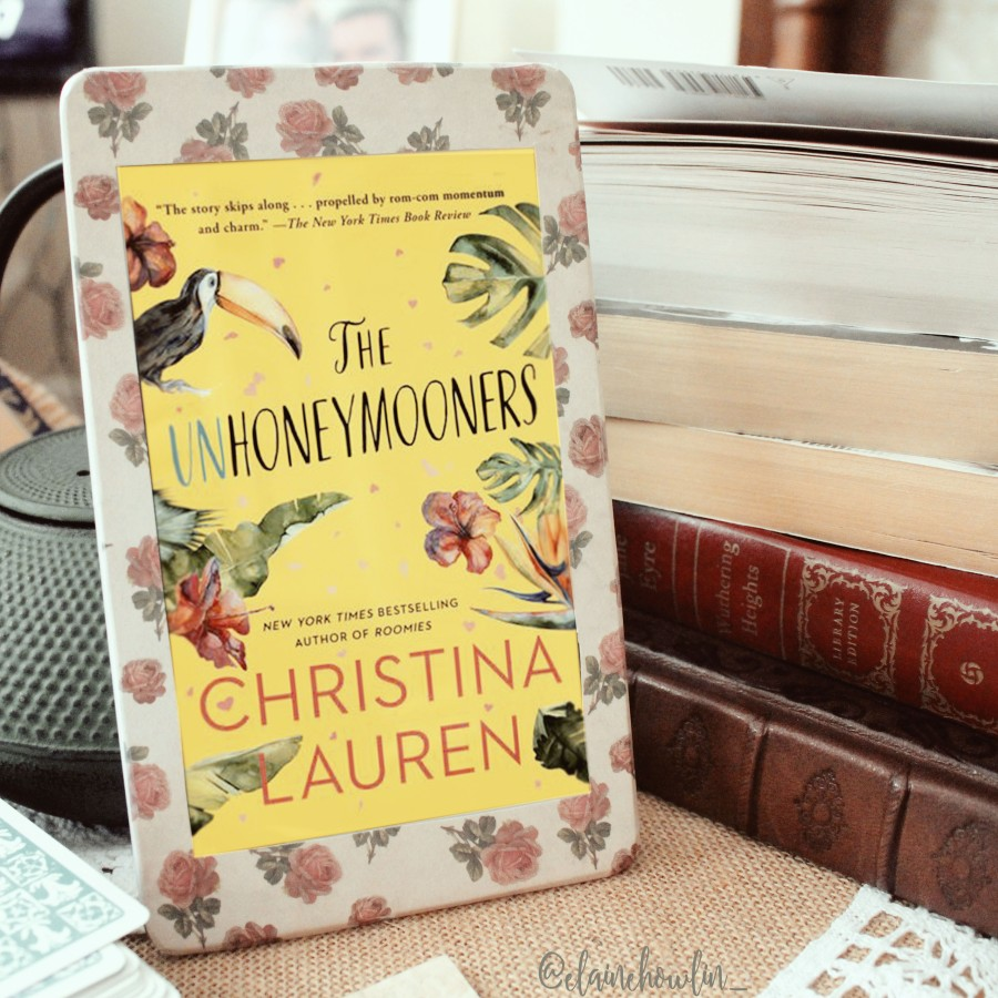 The Unhoneymooners by Christina Lauren Elaine Howlin Bookstagram