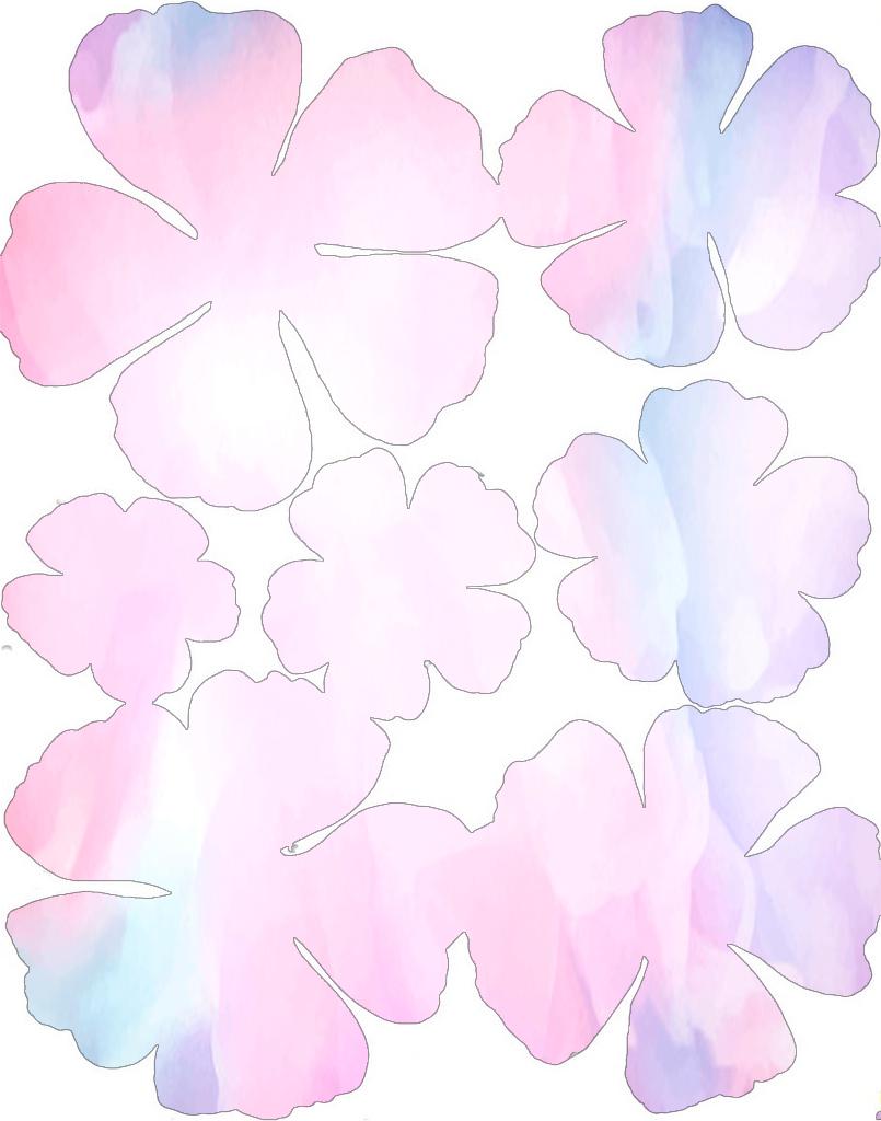 Watercolour Flowers 1