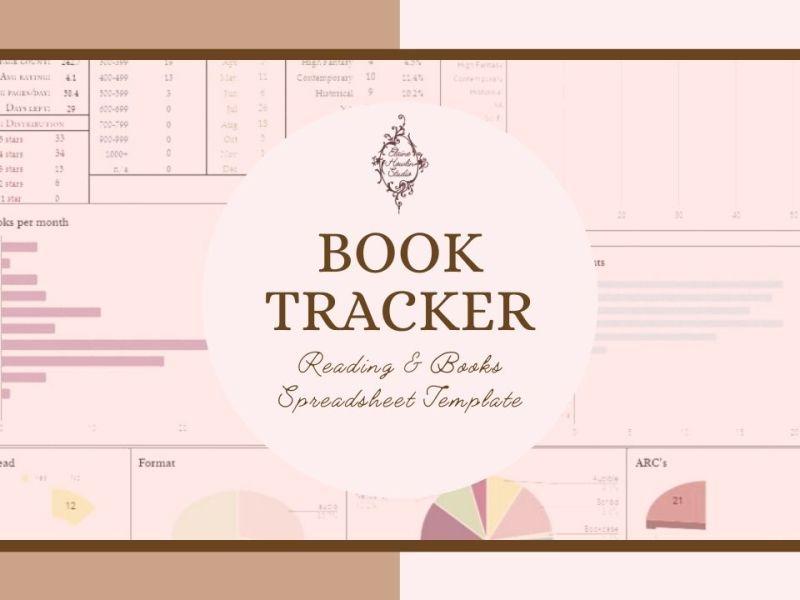 2022 Reading and books tracking spreadsheet elainehowlin Headingv